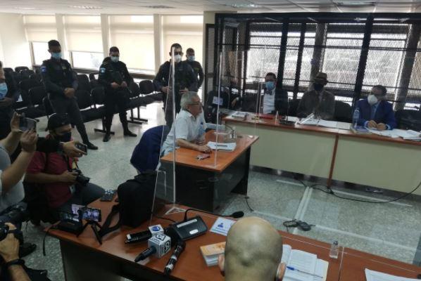 Audiencia del 26 de octubre primera declaración de César Montes. (Foto Prensa Libre: Hemeroteca PL)