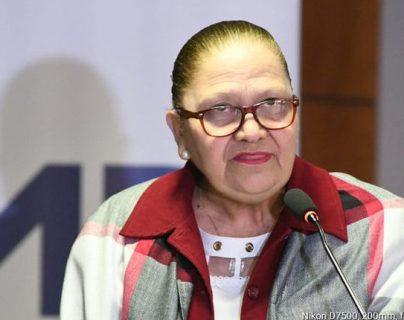 La fiscal general Consuelo Porras. (Foto Prensa Libre: Hemeroteca PL)