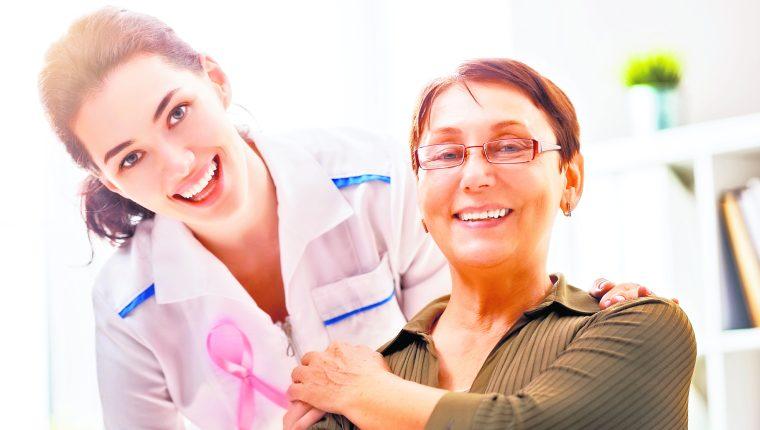 El cáncer de mama debe ser detectado a tiempo para que haya más posibilidad de no recibir un diagnostico fatalista. (Foto Prensa Libre: Shutterstock).