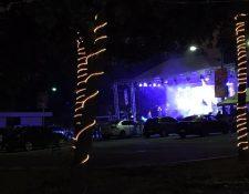 Coperex canceló los autoconciertos en el Parque de la Industria. (Foto Prensa Libre: Miriam Figueroa)