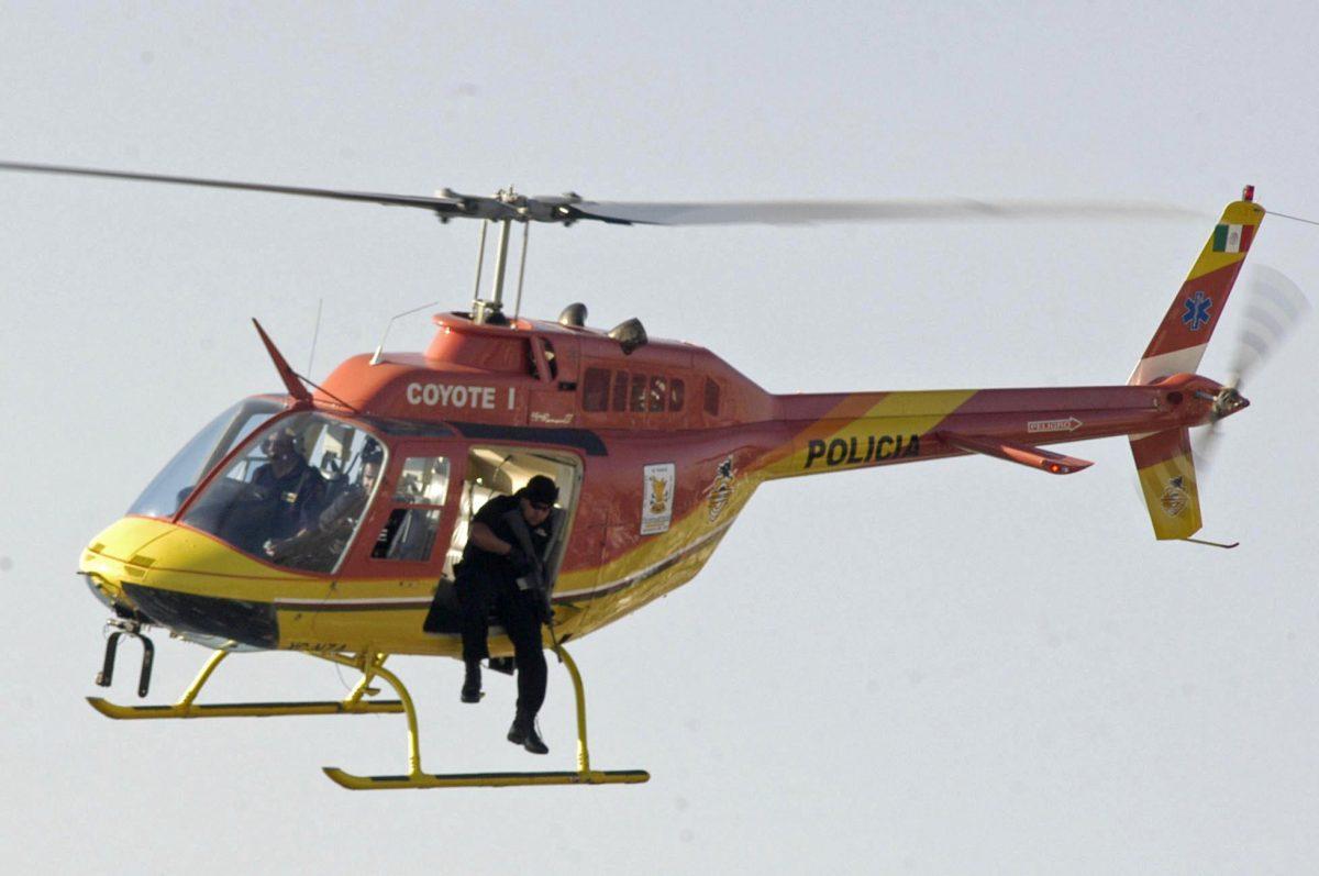 Coyote I: el helicóptero que persigue a delincuentes desde el cielo de México