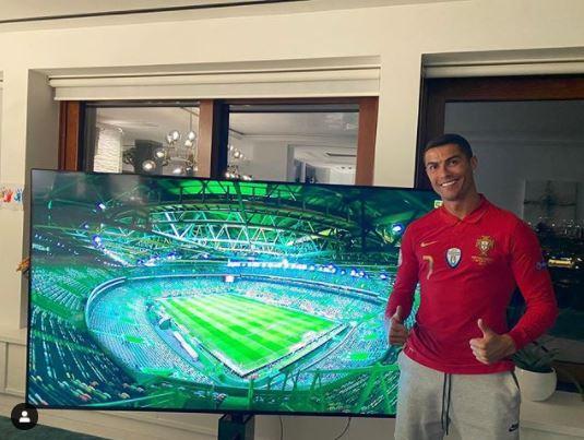 Cristiano Ronaldo ya está en Turín y continuará la cuarentena en su vivienda