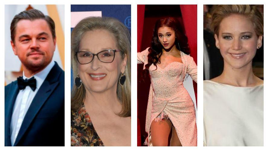 """""""Don't Look Up"""": el proyecto para Netflix que unirá a Leonardo DiCaprio, Meryl Streep, Ariana Grande y Jennifer Lawrence"""