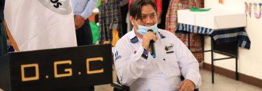 Fredy Chojolán ha dejado de ser director de Caminos. (Foto Prensa Libre: Hemeroteca PL)