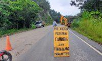 Caminos justificó hoy hacia qué proyectos viales está definida la transferencia de Q135 millones. (Foto Prensa Libre: CIV)