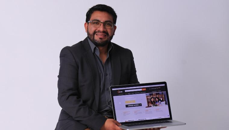 El objetivo de la plataforma Desde Casa es apoyar a los vendedores. (Foto Prensa Libre: Juan Diego González)