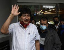 Evo Morales renunció a la Presidencia de Bolivia el 10 de noviembre de 2019. (Foto Prensa Libre: AFP)
