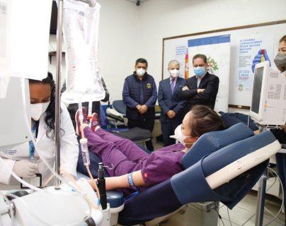 Esta área servirá para atender a pacientes moderados y graves con coronavirus. Foto Prensa Libre: Cortesía