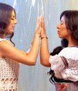"""Fabiola Roudha y Sara Curruchich promocionan el tema """"Florecer"""". (Foto Prensa Libre: Cortesía Fabiola Roudha)"""