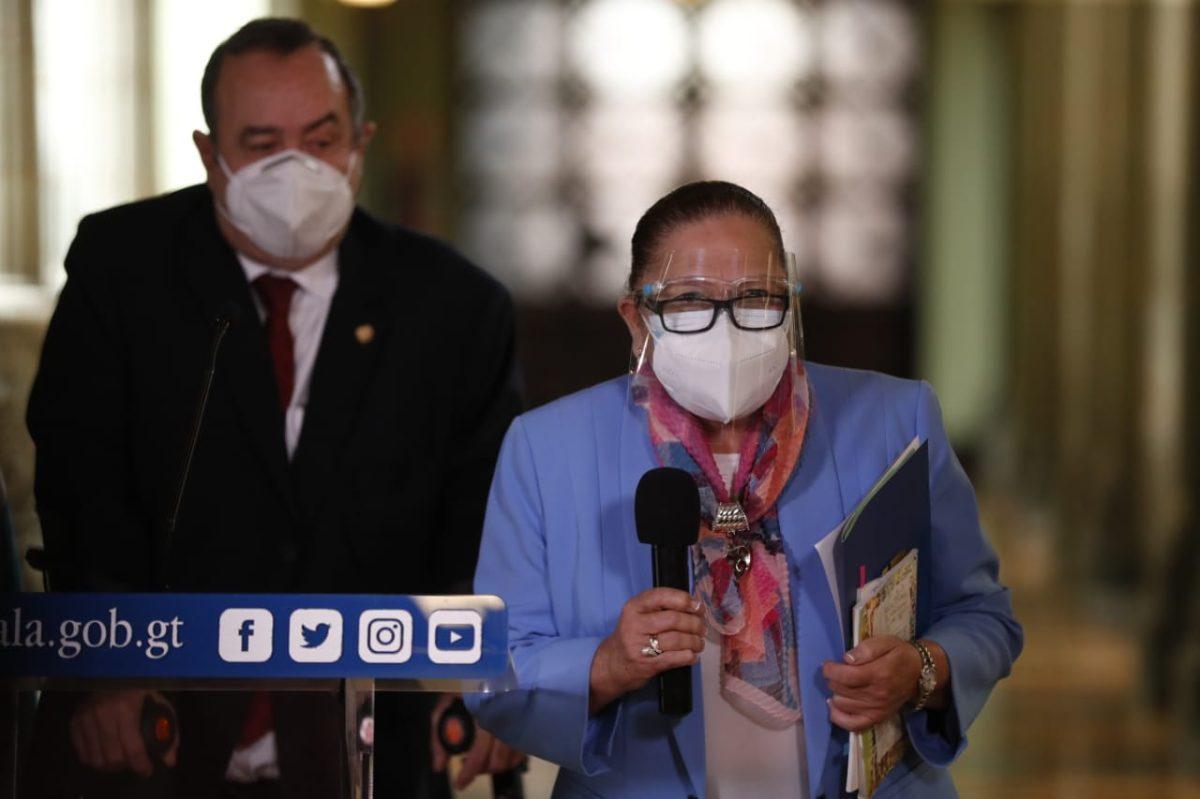 María Consuelo Porras: Guatemala tienen una fiscal de respeto, legalidad y trabajo. No esperen otra cosa de mí
