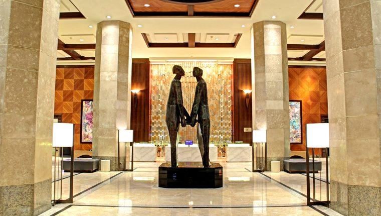 El hotel  Intercontinental se ubica en la zona 10, atiende principalmente turismo de negocios y eventos. (Foto, Prensa Libre: Cortesía).