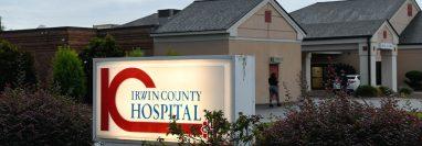 El Hospital del Condado de Irwin en Ocilla, Georgia, el 24 de septiembre de 2020. (Foto Prensa Libre: Aileen Perilla/The New York Times)