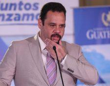 José Luis Benito, exministro de Comunicaciones. (Foto Prensa Libre: Hemeroteca PL)