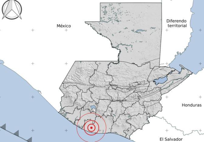 Temblores con epicentro en tierra fueron sensibles en Guatemala este viernes 23 de octubre