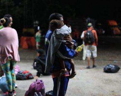 Al menos 25 menores no acompañados han sido detectados en la caravana de hondureños