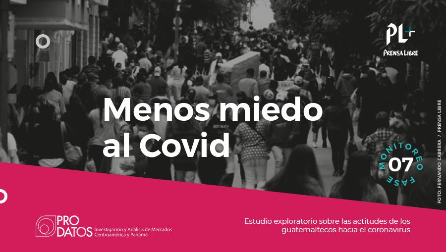 Disminuye el nivel de protección de los guatemaltecos ante la pandemia