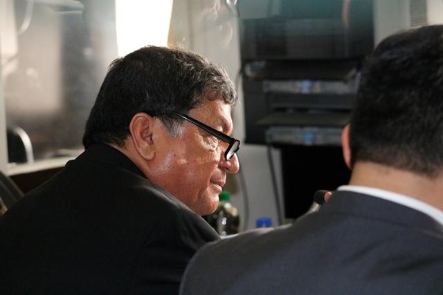 Exdiputado Baudilio Hichos, entonces procesado en primera instancia penal por el caso IGSS-Chiquimula. (Foto Prensa Libre: Hemeroteca PL)