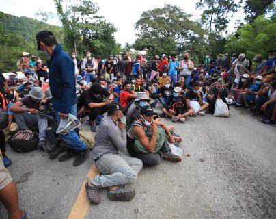 En septiembre se activó una caravana de migrantes desde Honduras y fue disuelta en Guatemala por las autoridades. (Foto Prensa Libre: Hemeroteca)