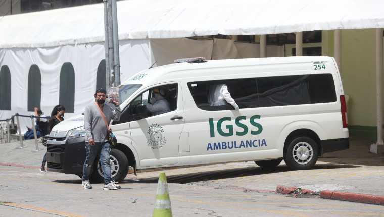 Las personas que sean suspendidas por el IGSS recibirán hasta Q150 diarios como subsidio. (Foto Prensa Libre: Hemeroteca)