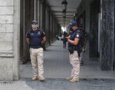 El ministro de Gobernación busca crear un ministerio de Seguridad para separar las funciones administrativas y de seguridad de la cartera. (Foto Prensa Libre: Erick Avila)