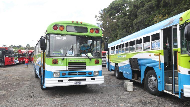 El nuevo sistema de pago solo estará disponible en los buses Express de Mixco. (Foto: Hemeroteca PL)