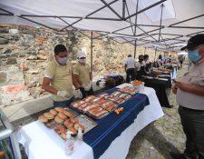 El corredor gastronómico cultural busca la reactivación económica de Antigua Guatemala y las aldeas cercanas. (Foto Prensa Libre: Byron García)