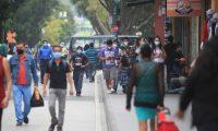 Ambiente en la sexta avenida.  foto Carlos Hern‡ndez 23/10/2020