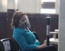 Sandra Torres en audiencia ante el Juzgado de Mayor Riesgo A. (Foto: Hemeroteca PL)