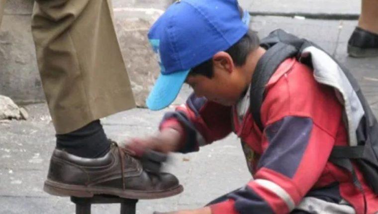 El trabajo infantil en Guatemala afecta el desarrollo de muchos niños. (Foto Prensa Libre: Hemeroteca PL)