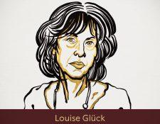 """Louise Glück fue premiada por su """"inconfundible voz poética. (Foto Prensa Libre: Nobel Prize)"""