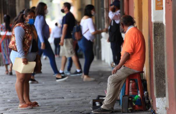 Guatemala reaperturó sus actividades económicas en medio de la pandemia. (Foto Prensa Libre: Byron García)