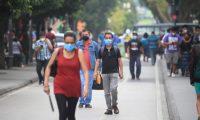 Guatemala ya supera los 100 mil casos de coronavirus. (Foto Prensa Libre: Carlos Hernández)