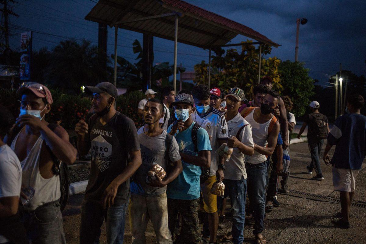 Crisis migratoria: AMLO cree que nueva caravana busca influir en elecciones de EE. UU.