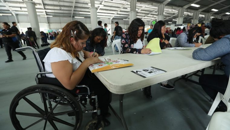 Solo el 4% de personas con discapacidad tiene un empleo remunerado en Guatemala
