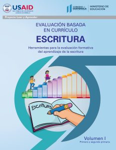 Evaluación basada en curriculo escritura