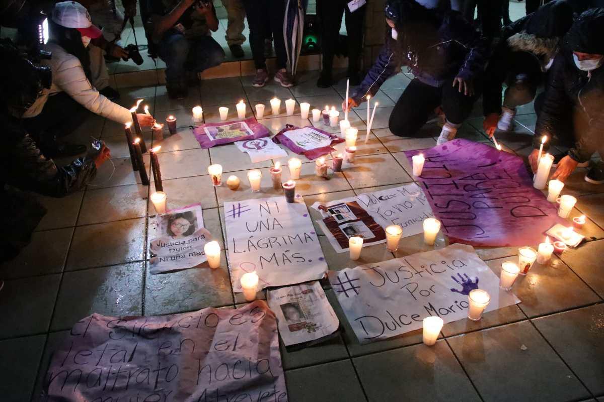 Dulce María Cifuentes Cruz: mujeres se unen para exigir justicia por muerte de joven madre