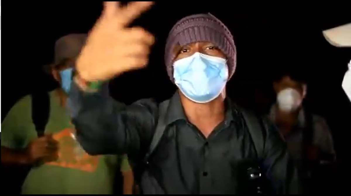 Caravana de migrantes: Hondureño canta un rap para expresar el sentir de aquellos que buscan mejor vida en Estados Unidos