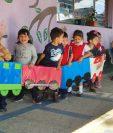Los centros de atención infantil podrán atender a niños en modalidad híbrida en municipios con alerta naranja. (Foto Prensa Libre: HemerotecaPL)