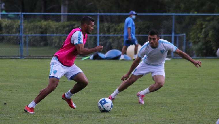 Luego de dos partidos amistosos frente a México y Nicaragua, la Selección de Guatemala buscará mejores resultados frente a Honduras.  (Foto Prensa Libre: Fedefut)