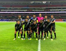 La Selección Nacional buscará mejorar su desempeño contra Nicaragua, después de la derrota frente a México. (Foto Prensa Libre: Cortesía Fedefut)