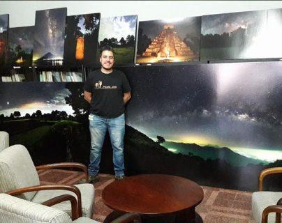 El astrofotógrafo Sergio Emilio Montúfar obtuvo el premio Dark Sky Defender. (Foto Prensa Libre: Tomada de Facebook)