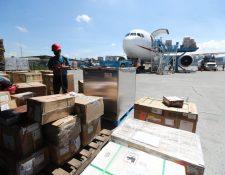 La Terminal de Carga del Aeropuerto La Aurora requerirá ampliaciones, según expertos. (Foto, Prensa Libre: Hemeroteca PL).
