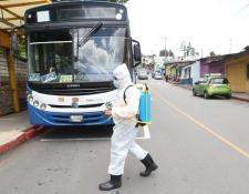 Transurbano realizó pruebas para la reacticación de su servicio. (Foto: Erick Ávila/Prensa Libre)