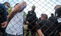 Traslado a finales de agosto de varios líderes del barrio 18 a distintas cárceles para evitar coordinaciones sobre extorsiones y crímenes. (Foto Prensa Libre: Hemeroteca PL)