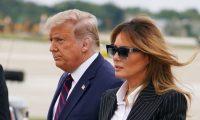 La primera dama de los Estados Unidos manifestó en sus redes sociales sentirse bien. (Foto Prensa Libre: AFP)