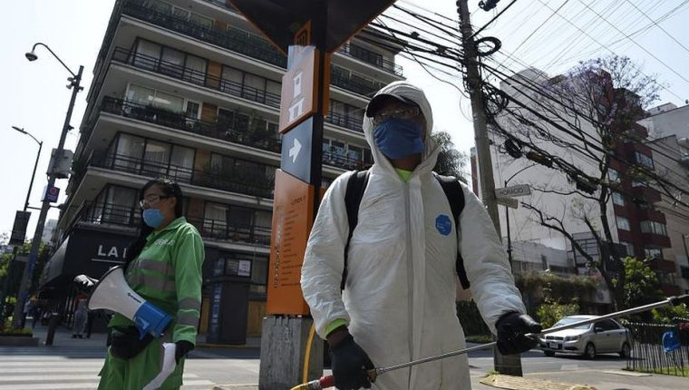 México toma medidas de prevención por el coronavirus. (Foto Prensa Libre: Hemeroteca PL)