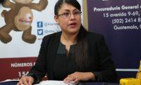 Suilma Cano es directora de la unidad operativa del sistema de Alerta Alba Keneth. (Foto Prensa Libre: Hemeroteca)