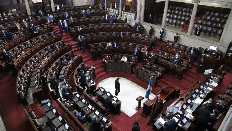 La impuntualidad e inasistencia han sido recurrentes en las últimas sesiones de pleno. Fotografía: Congreso.
