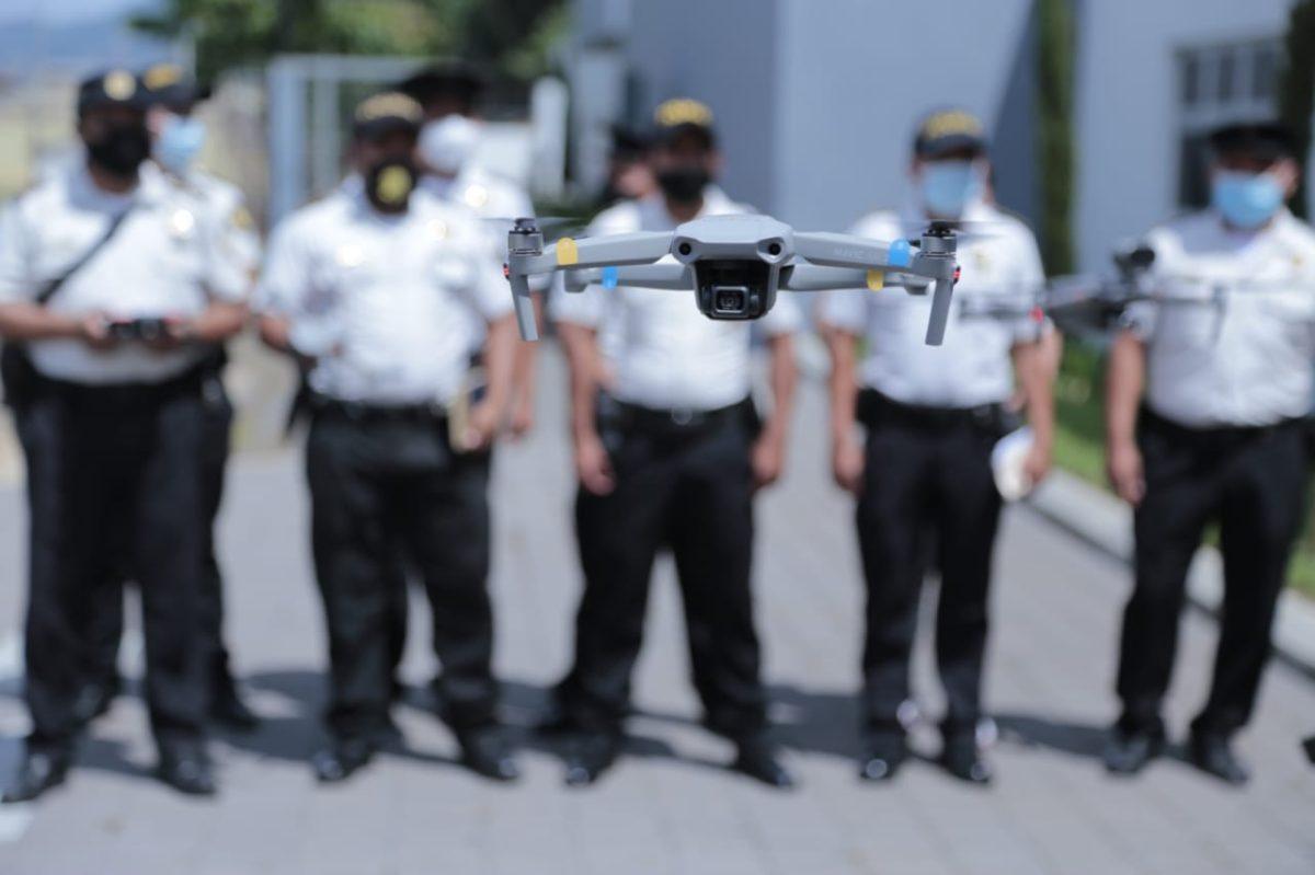 PNC evalúa la compra de 10 drones para rastreo de zonas e investigación criminal