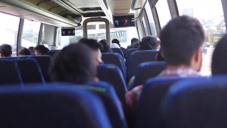 Los menores migrantes no acompañados son trasladados a albergues de la SBS. Foto Prensa Libre: SBS.